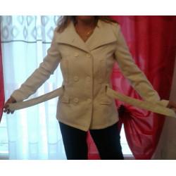 Manteau blanc mi saison