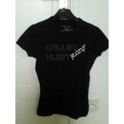 Tee shirt noir calvin Klein