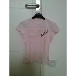 Tee shirt rose calvin Klein